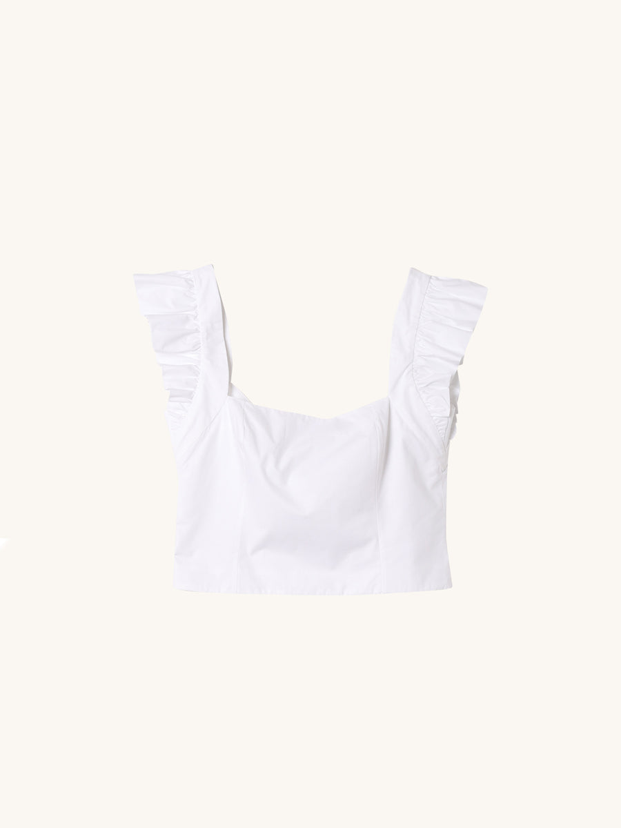 Hyannis Top in White