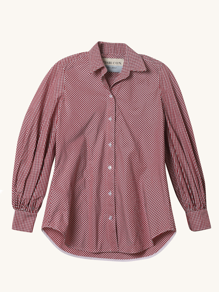 Micro Check Fancy Bridger Top