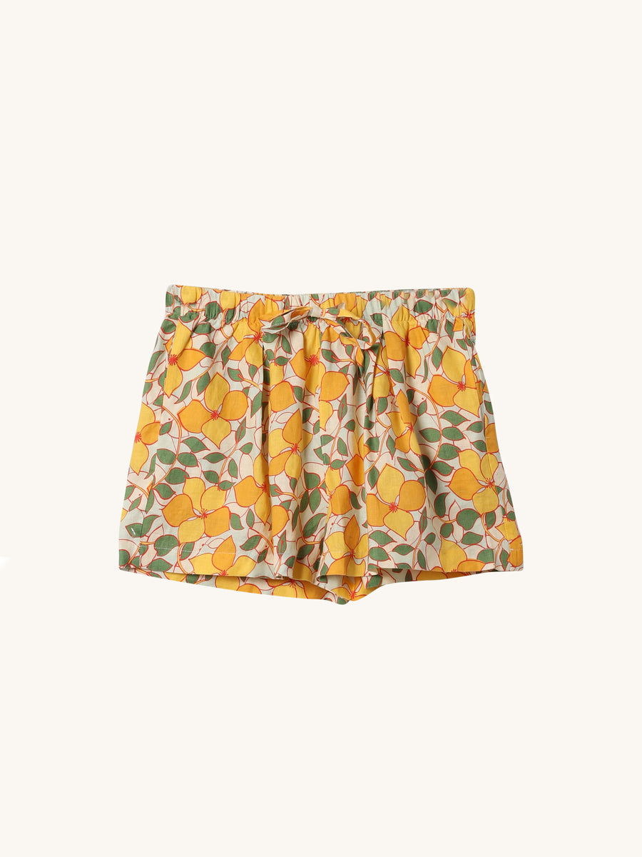 Yellow Garland Ione Short