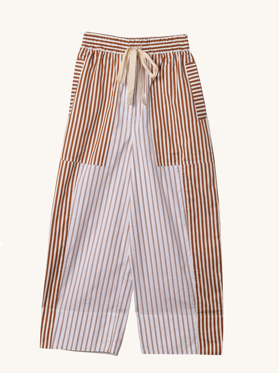 Copper Stripe Jamie Pant