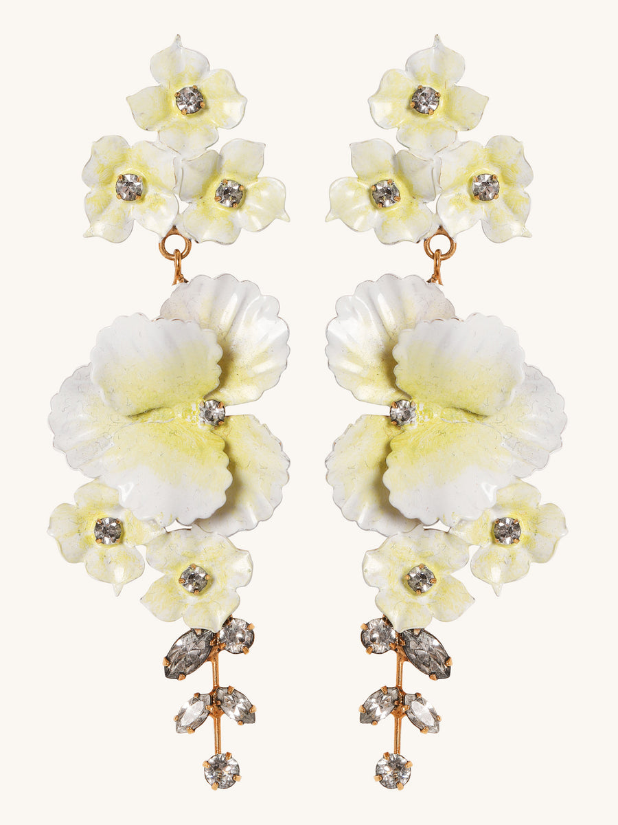 Sabine Earrings in Jonquil