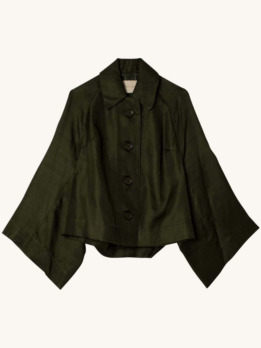 Jalil Jacket in Green