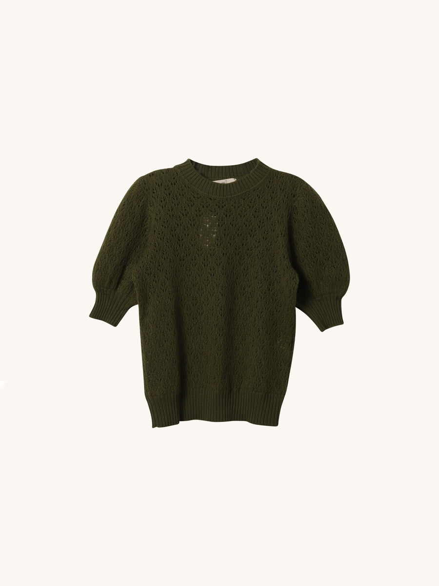 Molly Sweater in Army Green