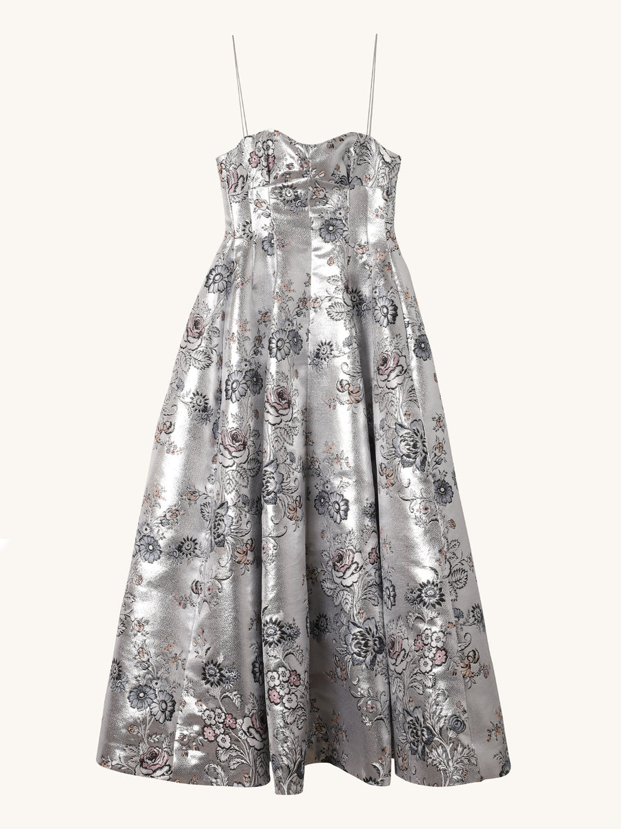 Floral Adalyn Jacquard Dress