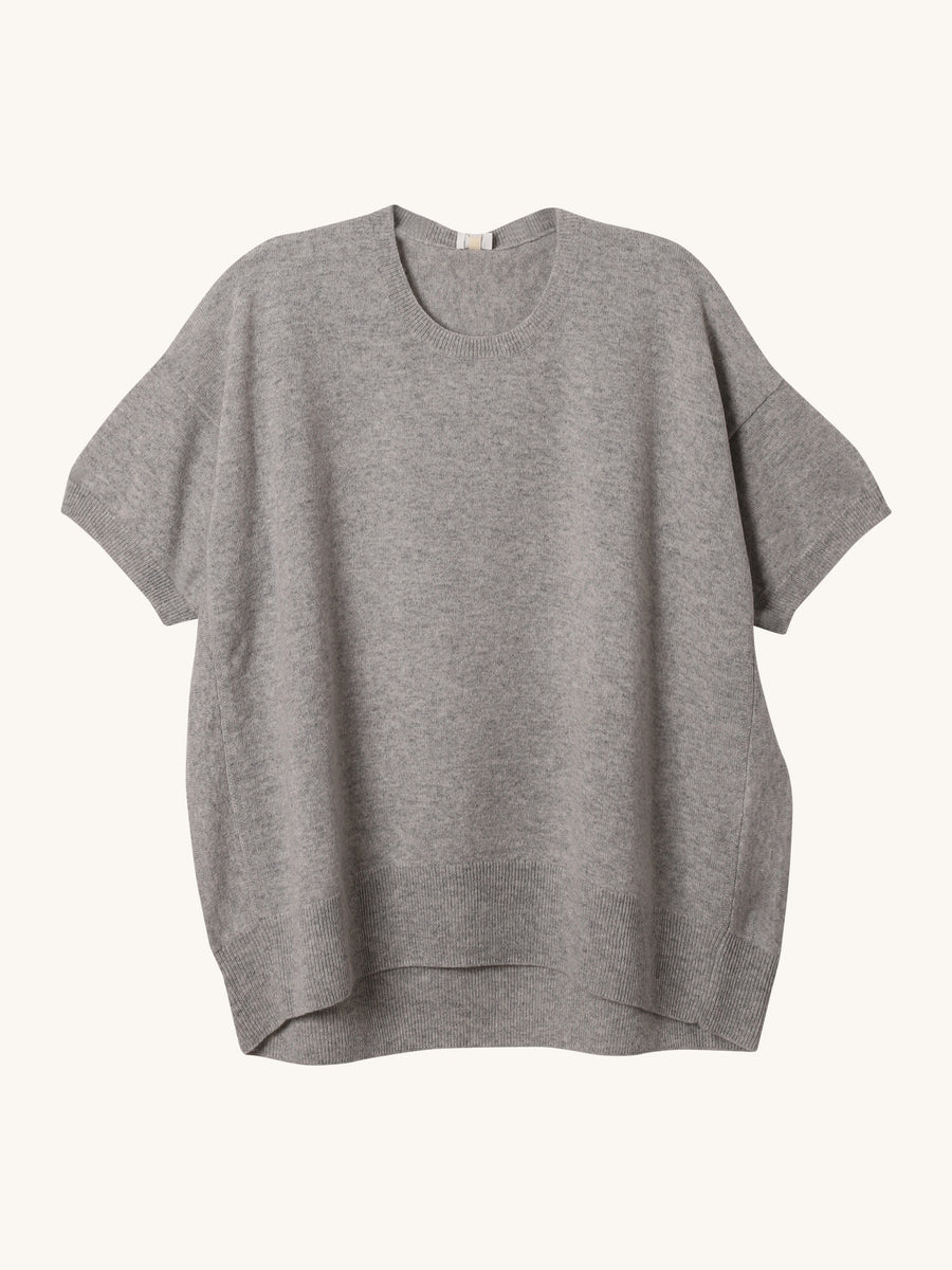 Cashmere Sweater in Grey