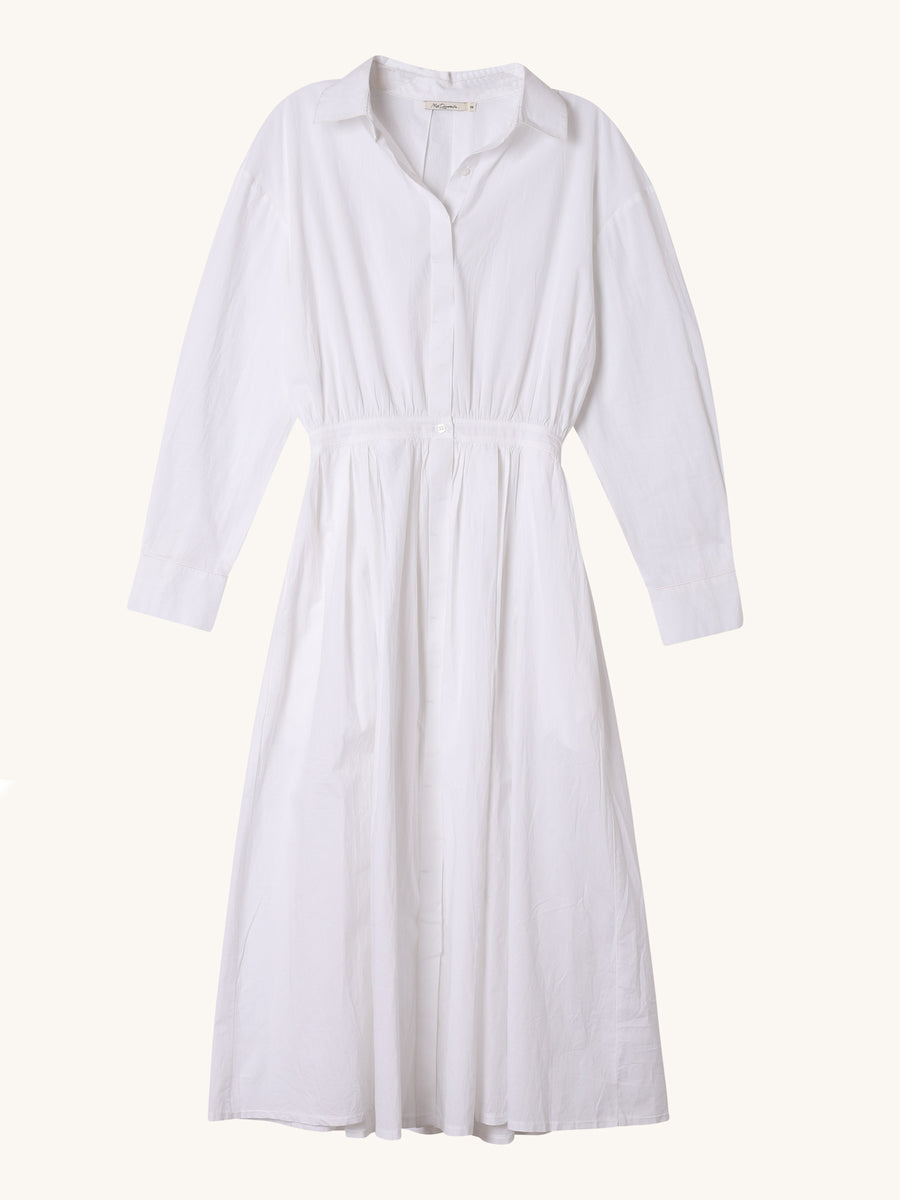 Claudel Dress in White