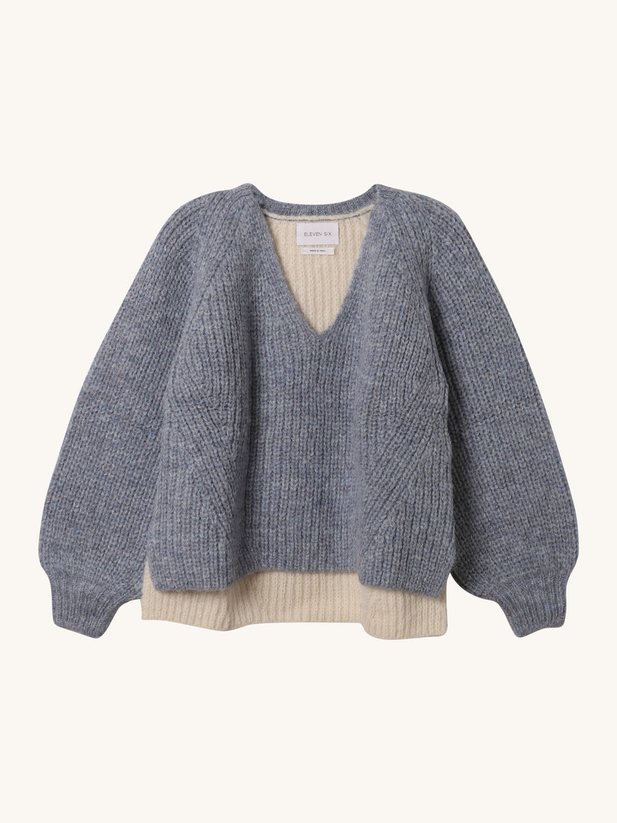 Tess Sweater in Cloud