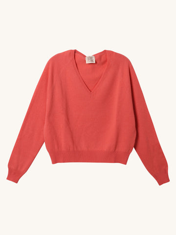 The Girlfriend Sweater in Pink