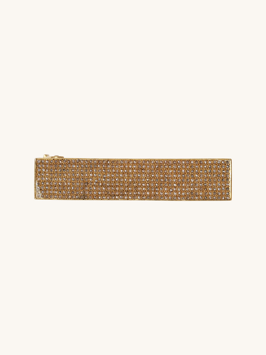 Brass Pavé Bar Bangle