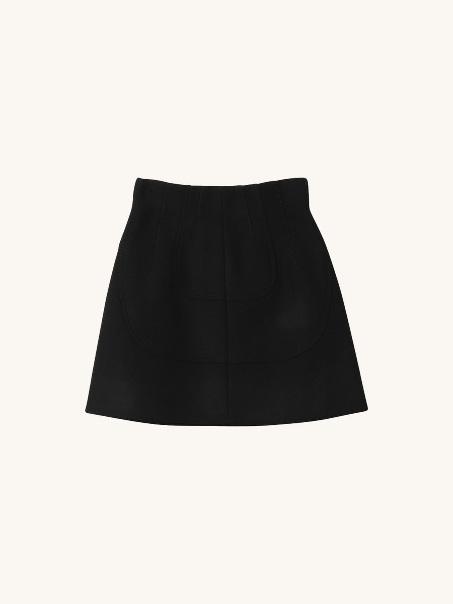 Mini Skirt in Black