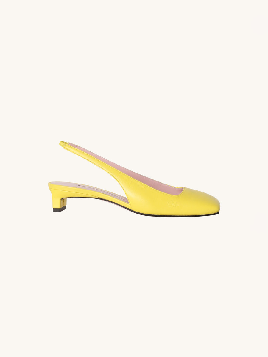 Little Girl Gloria Heel in Lemon