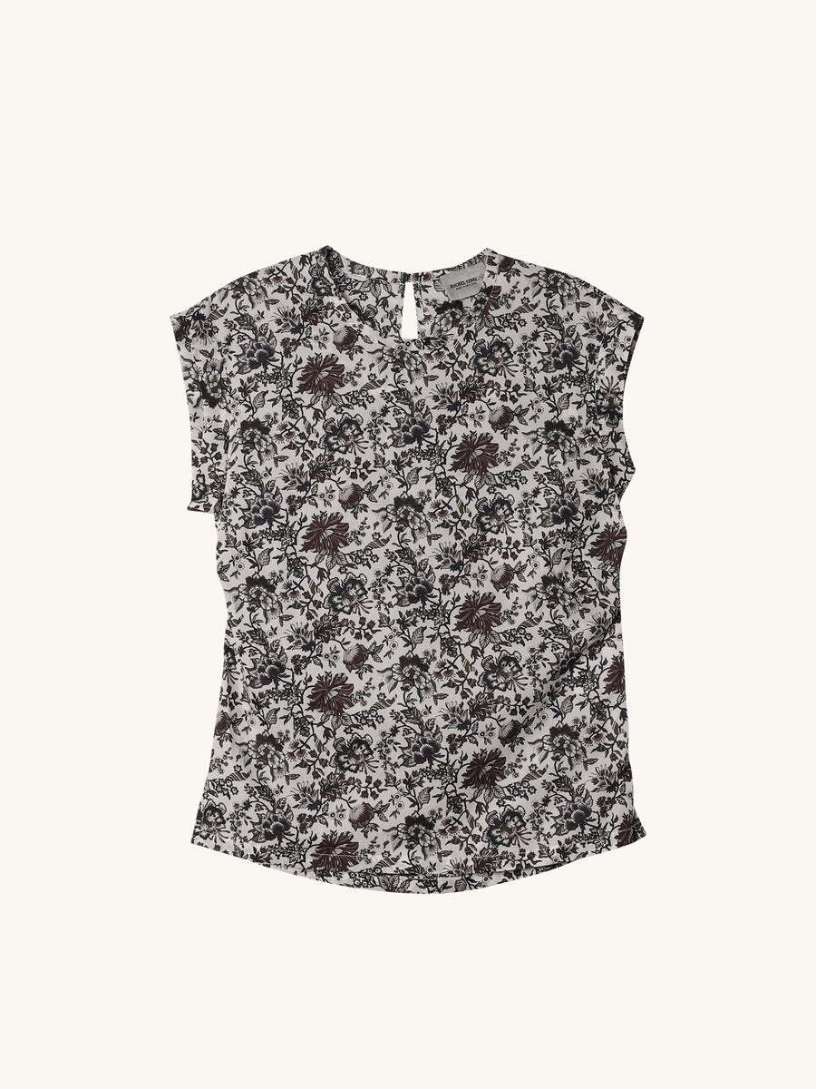 Variance Top in Floral