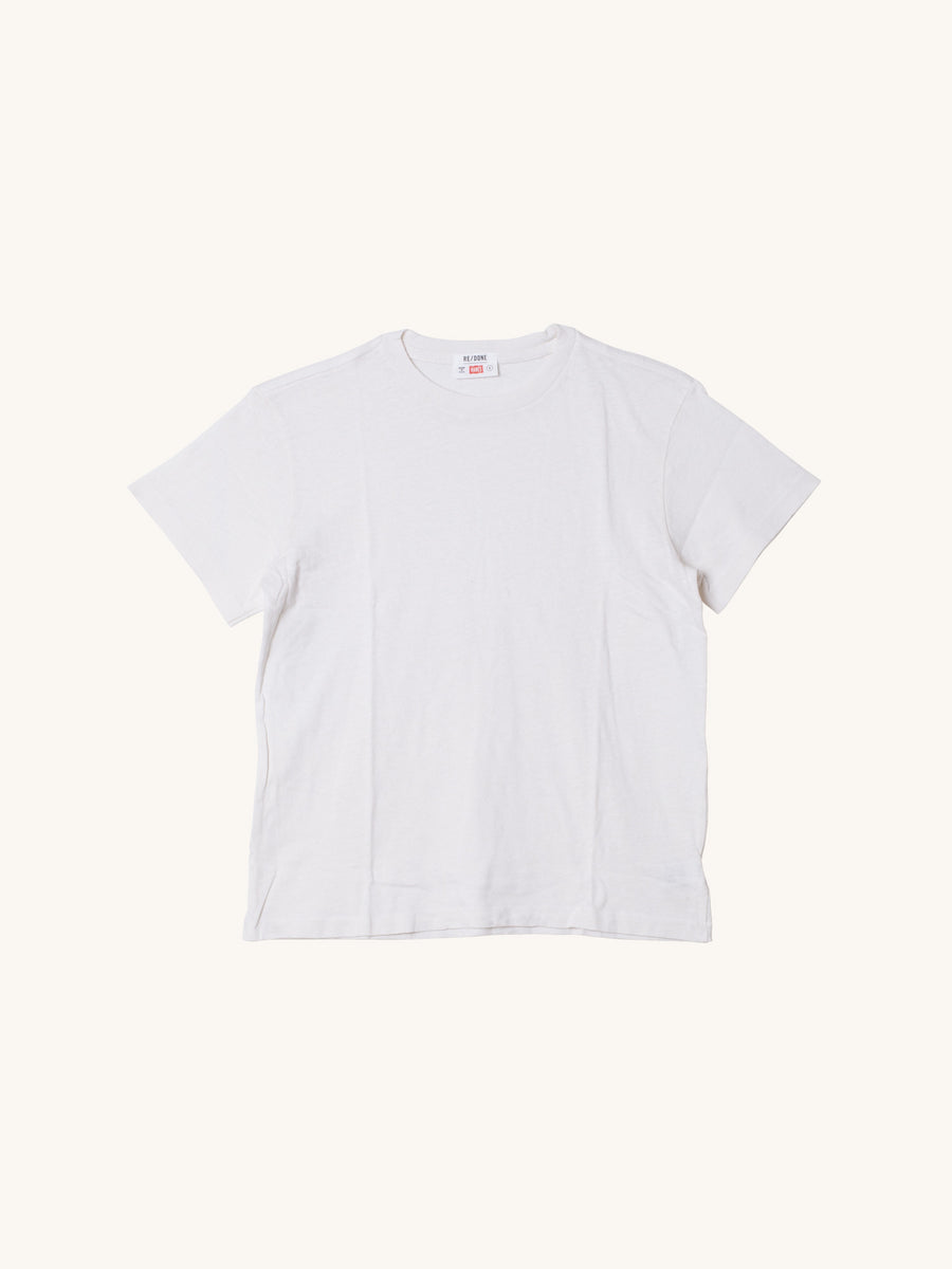 The Classic Tee in Vintage White