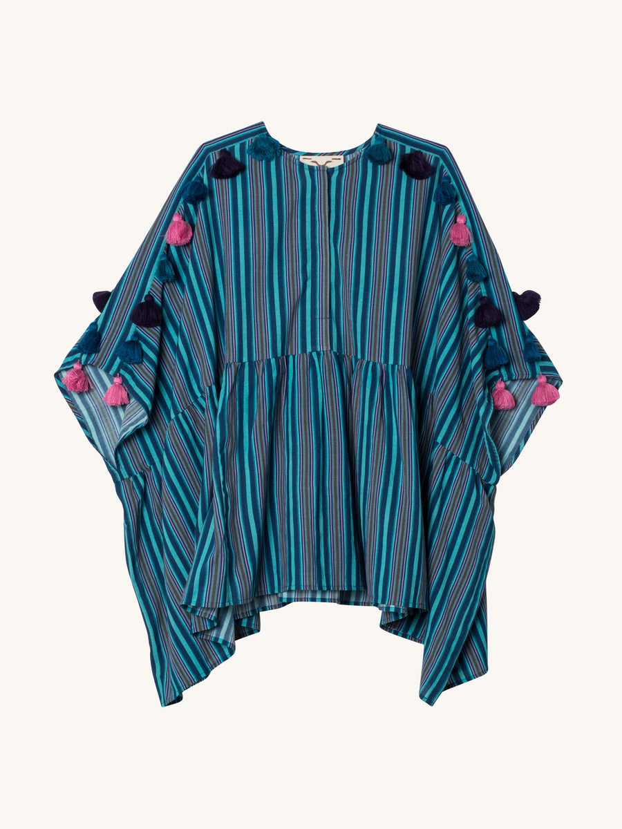 Mia Top in Rivera Stripe