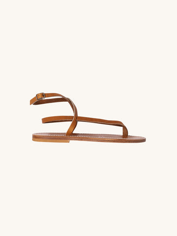 Delta Sandal in Naturel