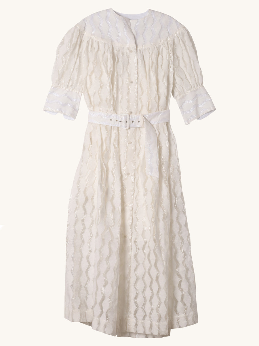 Ardito Dress in White