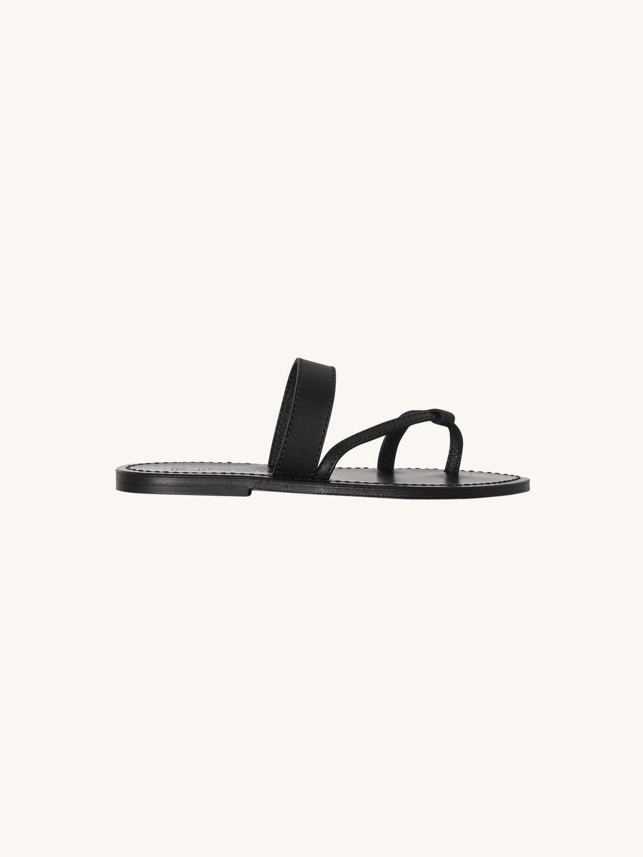 Samosate Sandal in Black