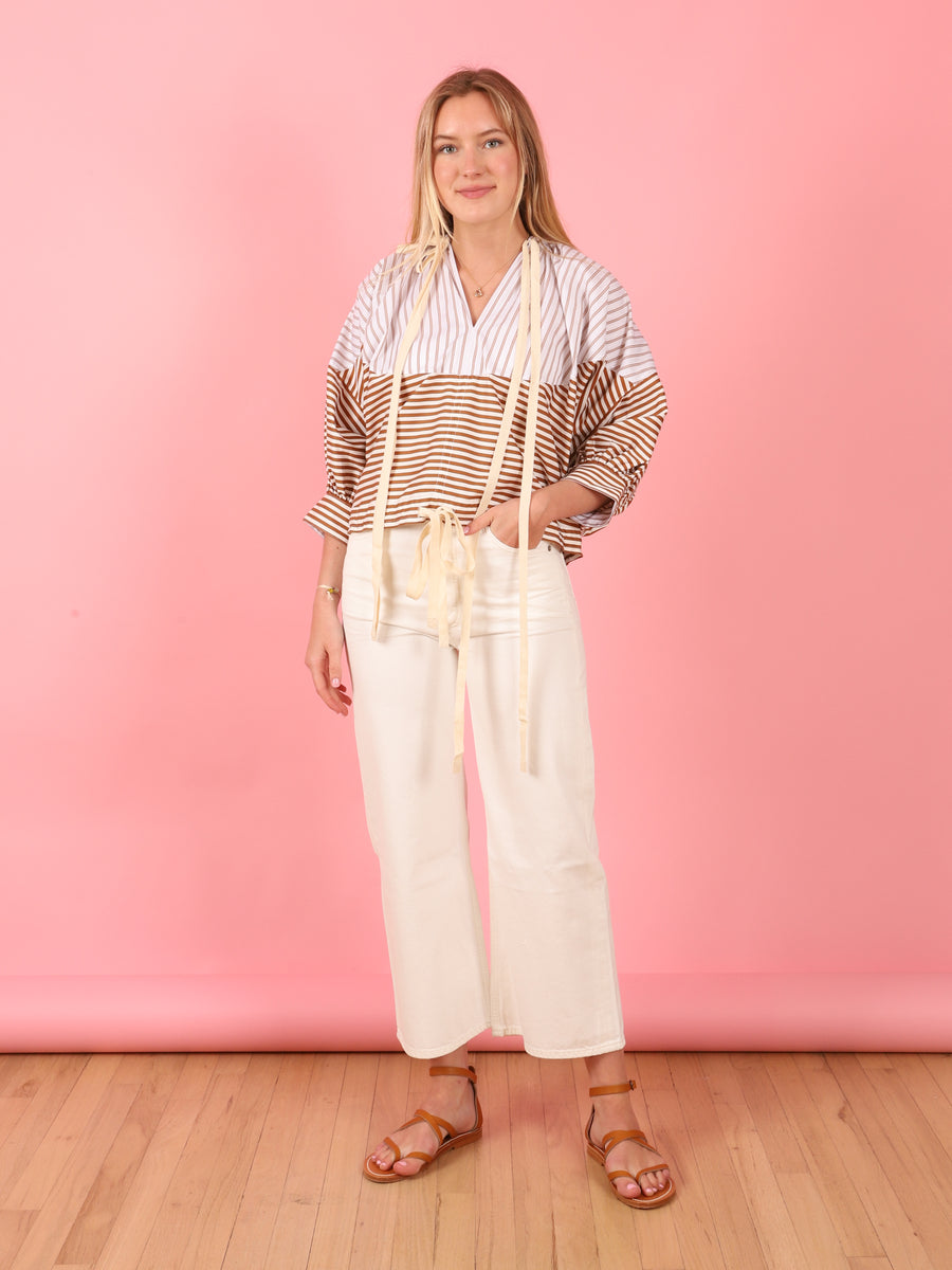 Sacha Wide Leg in Idyll