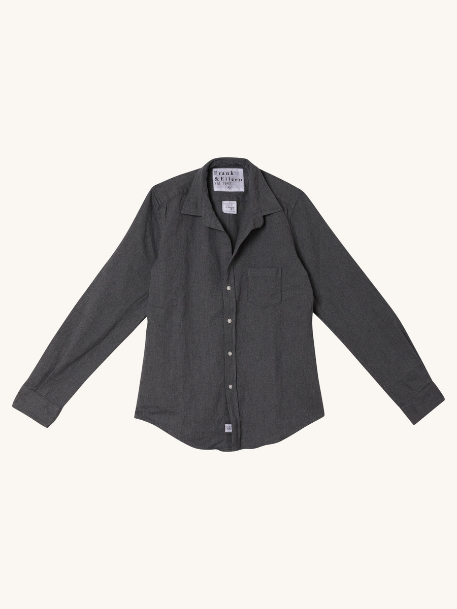 Barry Shirt in Charcoal