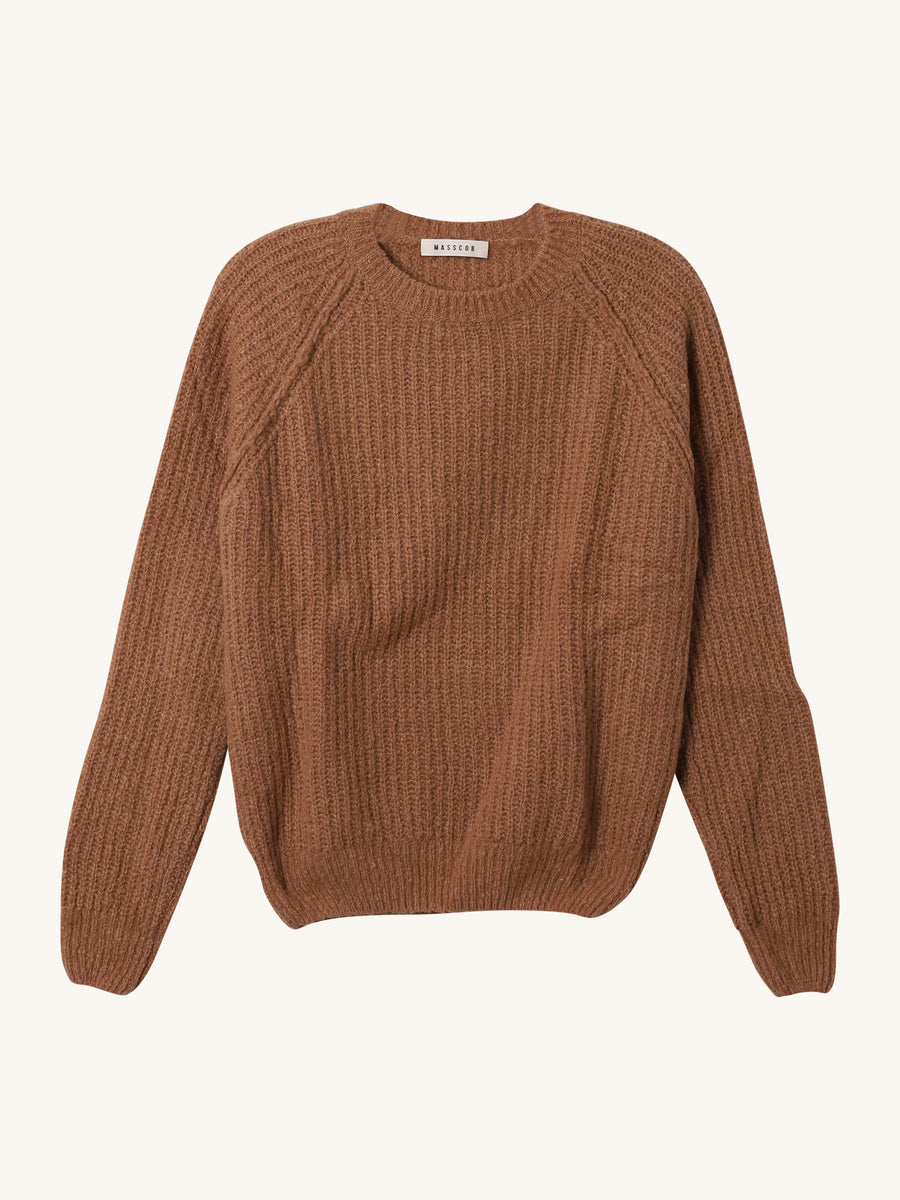 Ross Pullover in Camel