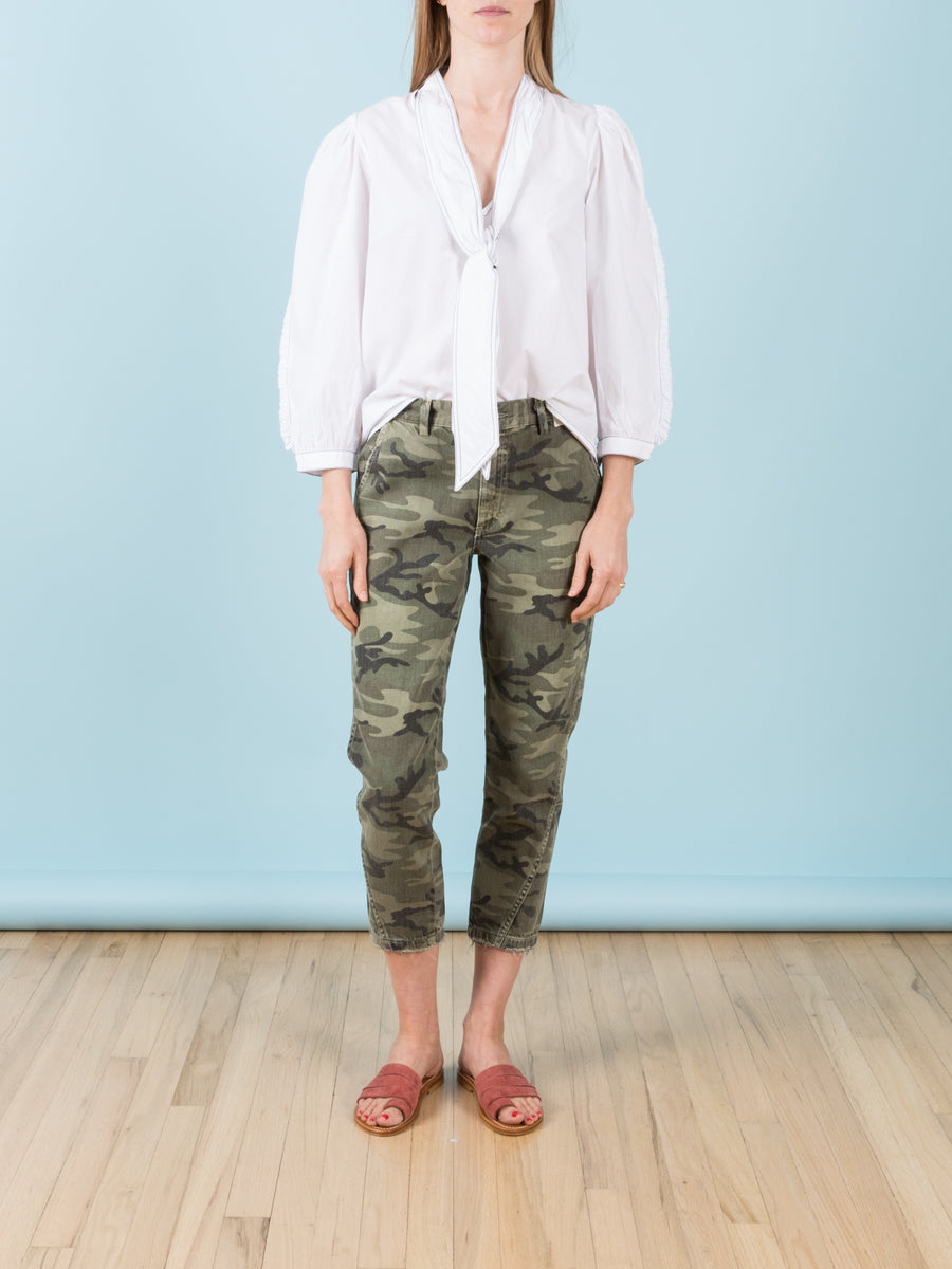 Slouch Trouser in Camo