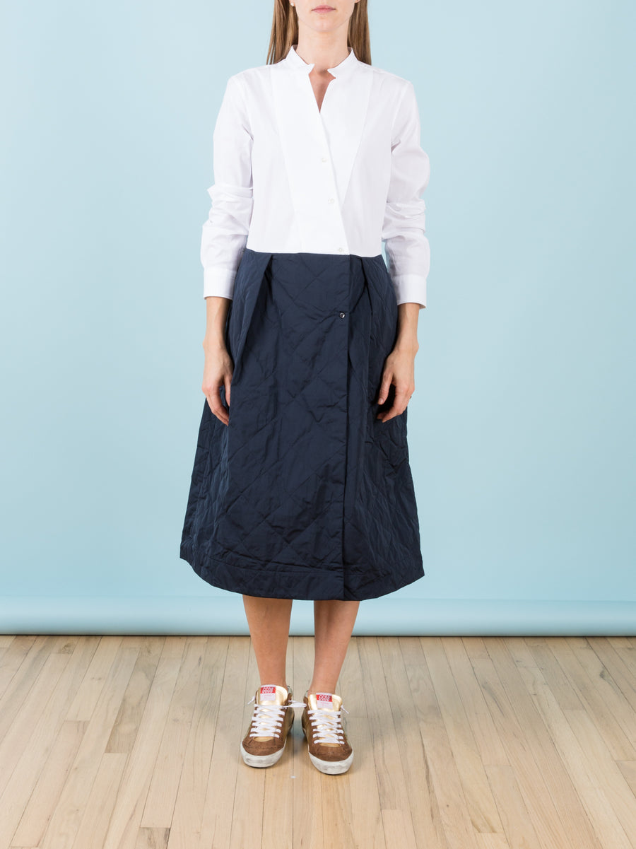 Vangat Quilted Skirt Dress
