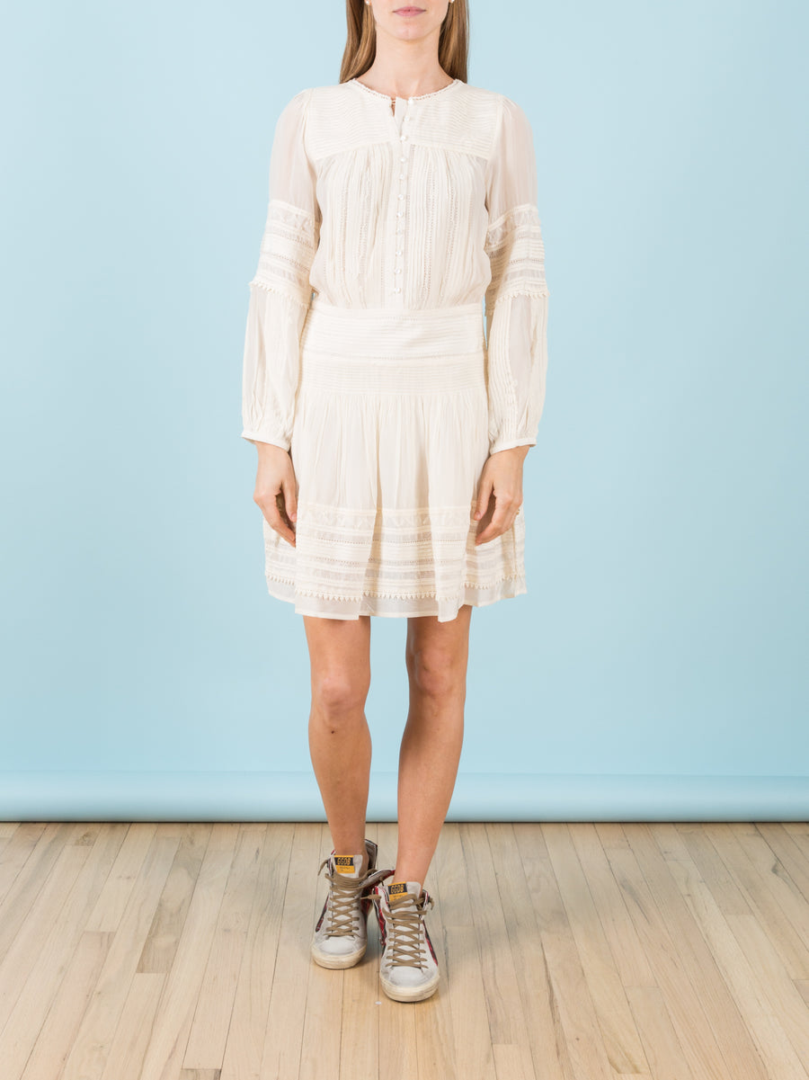 Azzedine Tunic in Cream