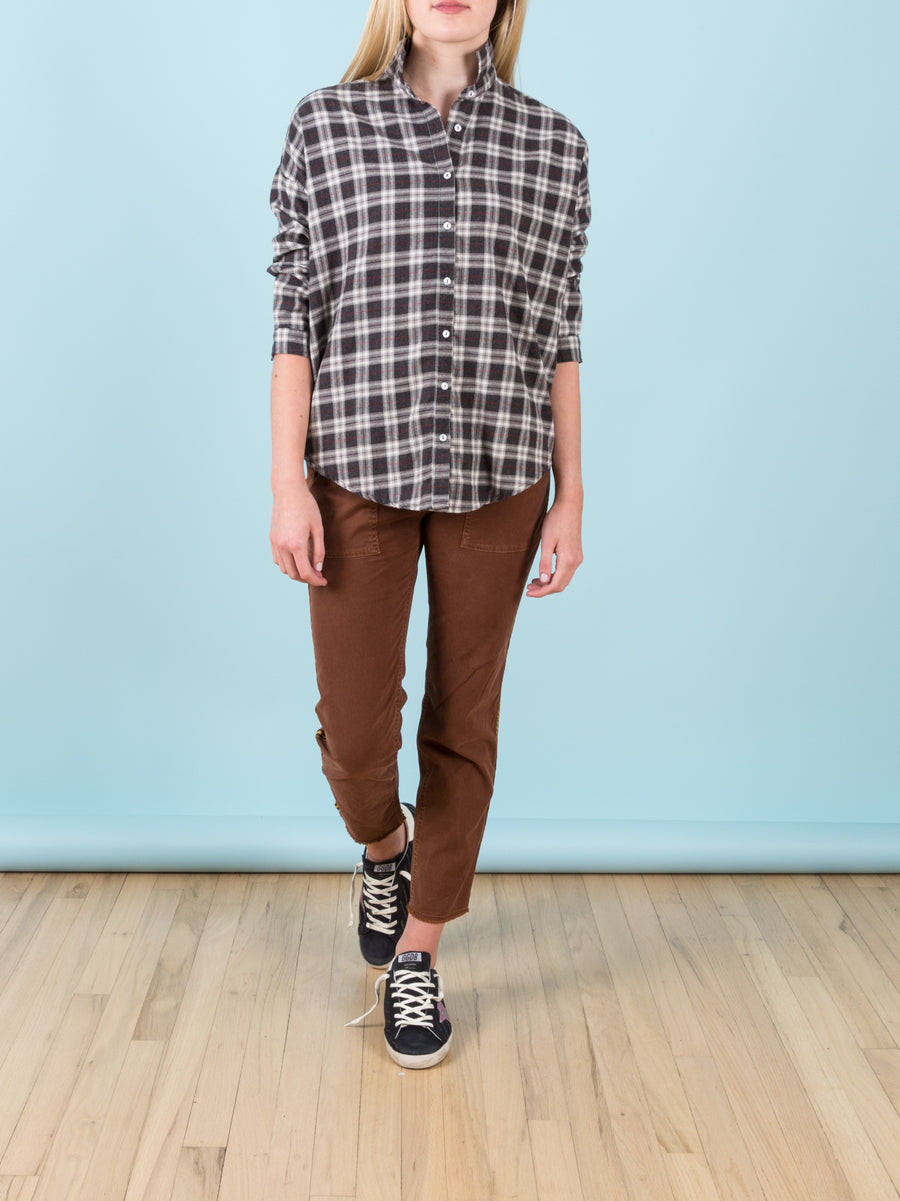 Jenna Pant with Rust & Brown Tape
