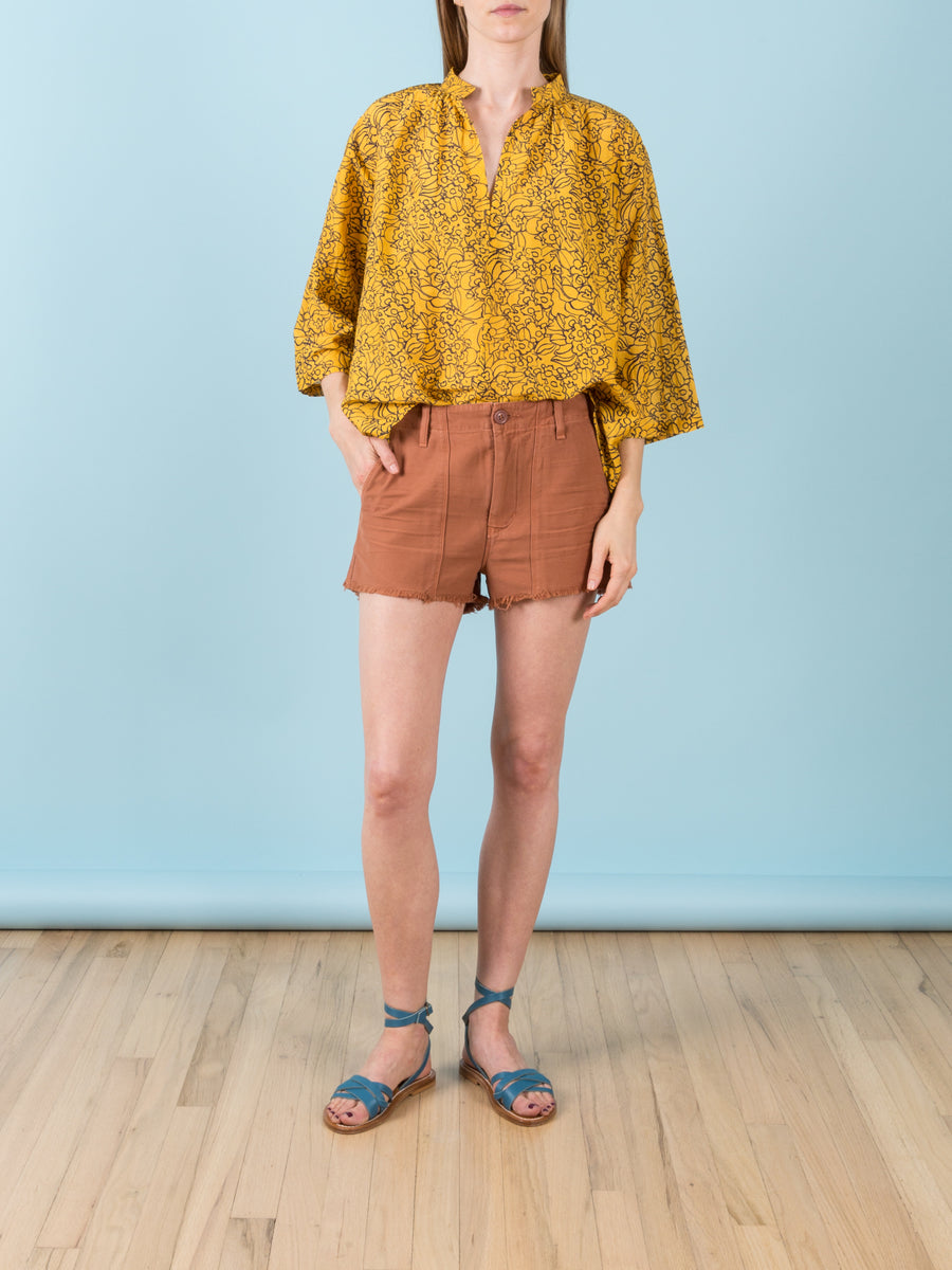 Meghan Surplus Shorts in Terracotta