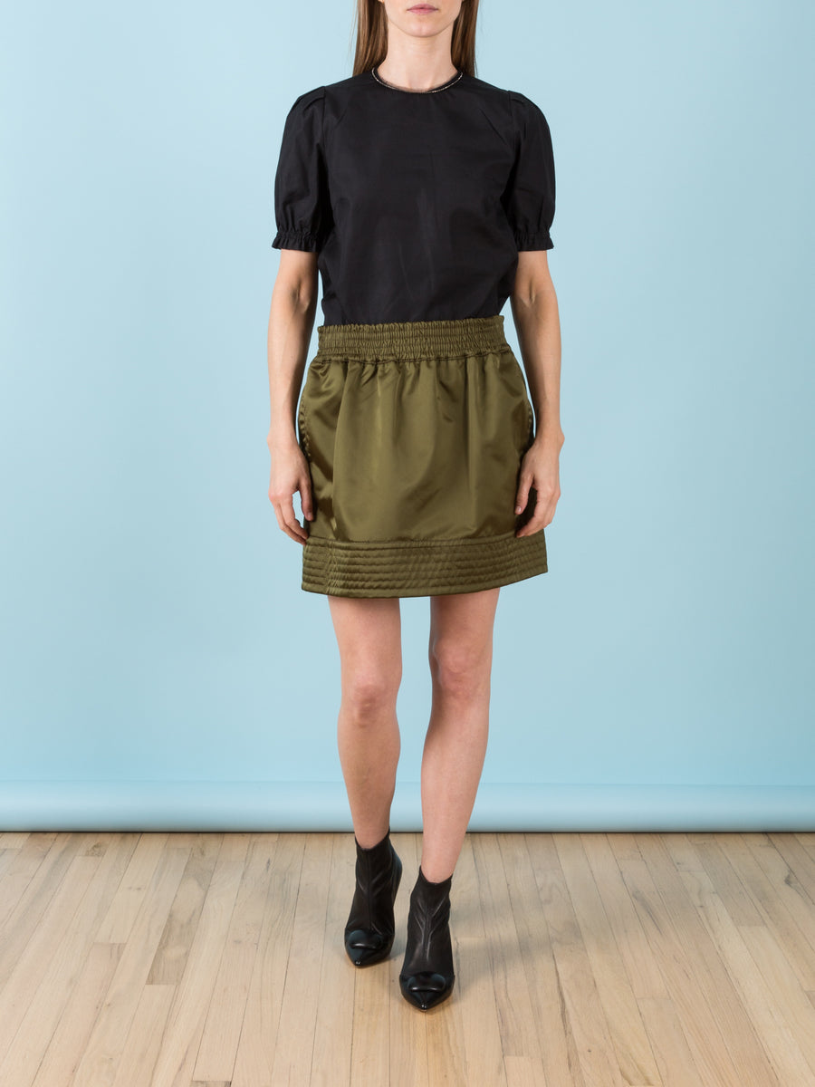 Mini Skirt in Sage