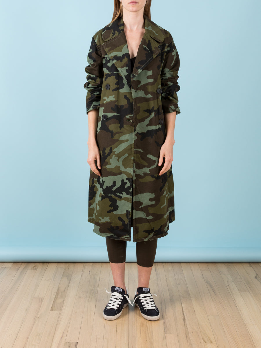 Farrow Coat in Green Camo