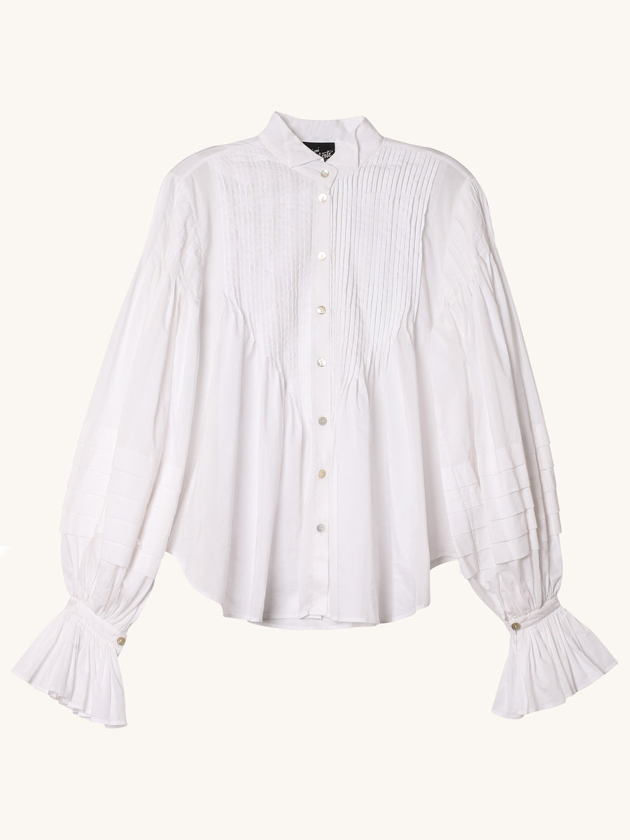 Ava Blouse in White