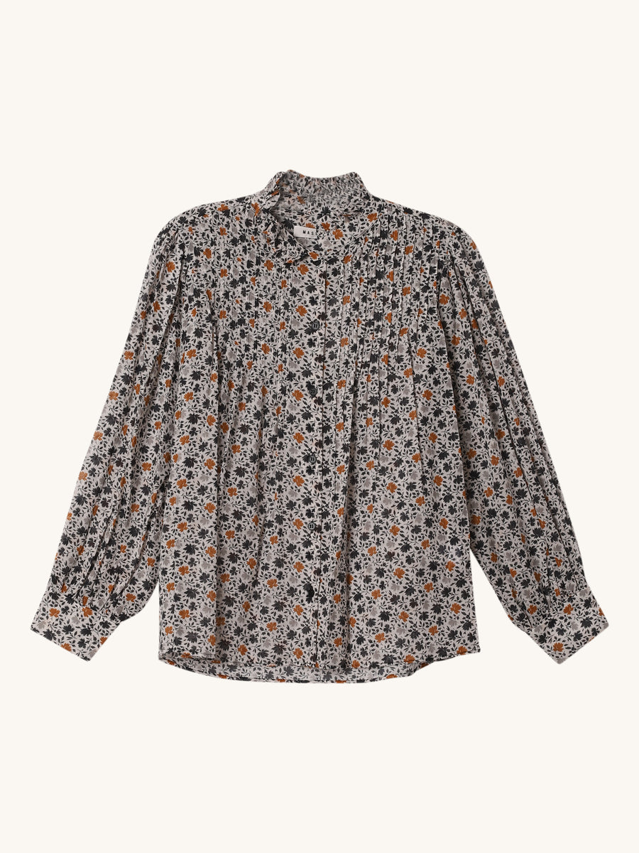Agnes Blouse in Panna