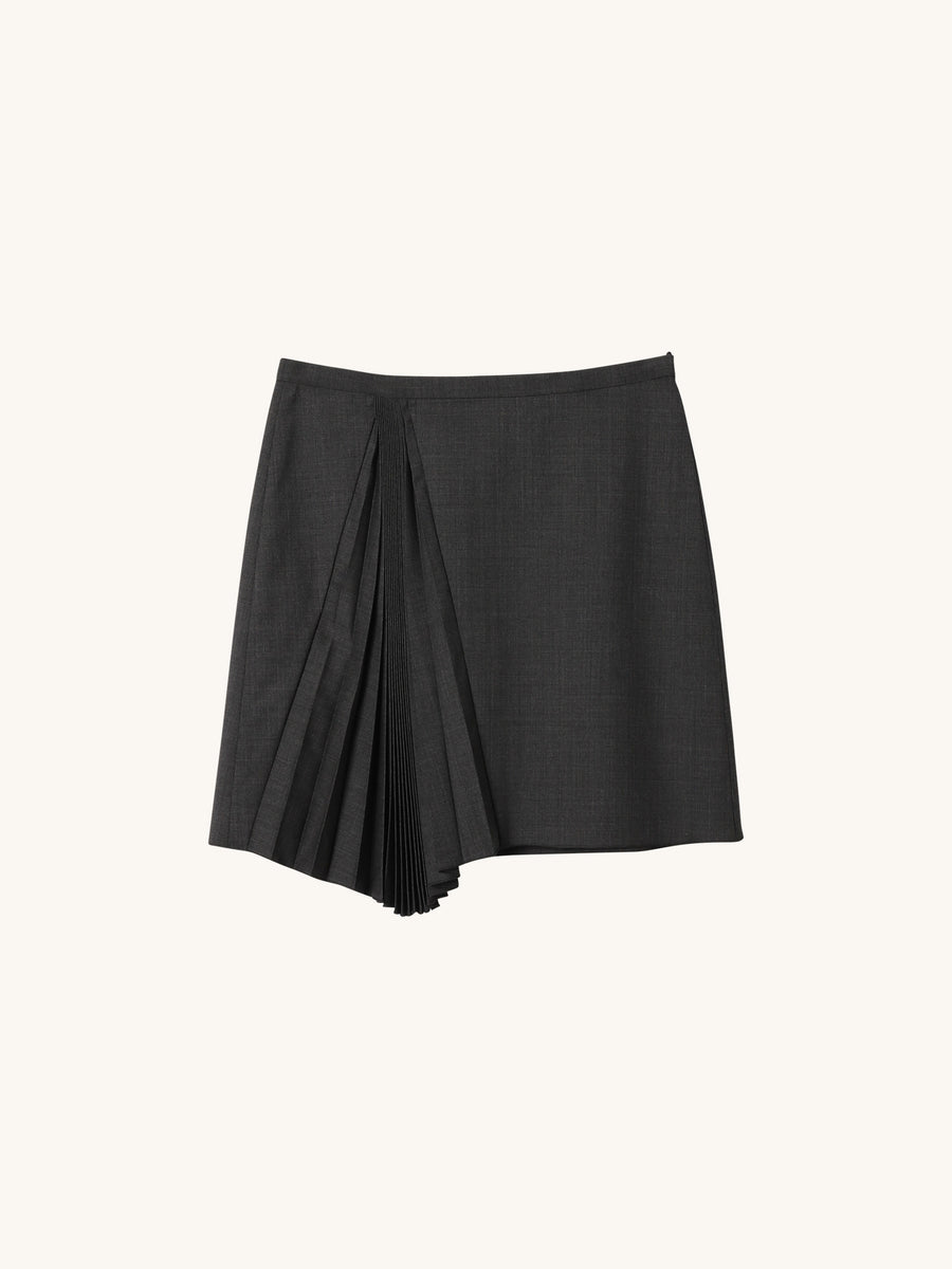 Mini Skirt in Dark Grey