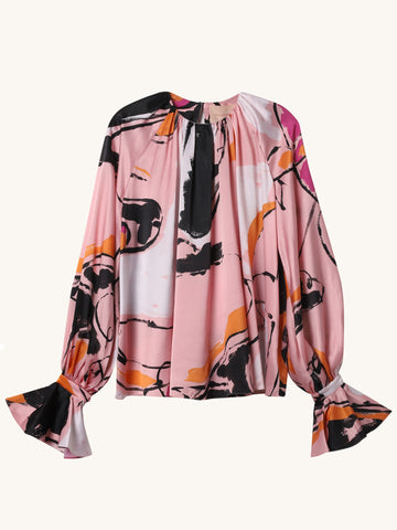 Pia Printed Top