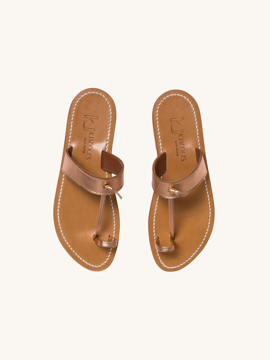 Ganges Sandal in Disco Peach