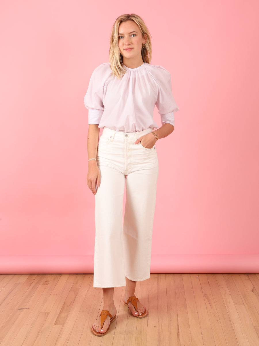 Pink Stripe Tammy Top