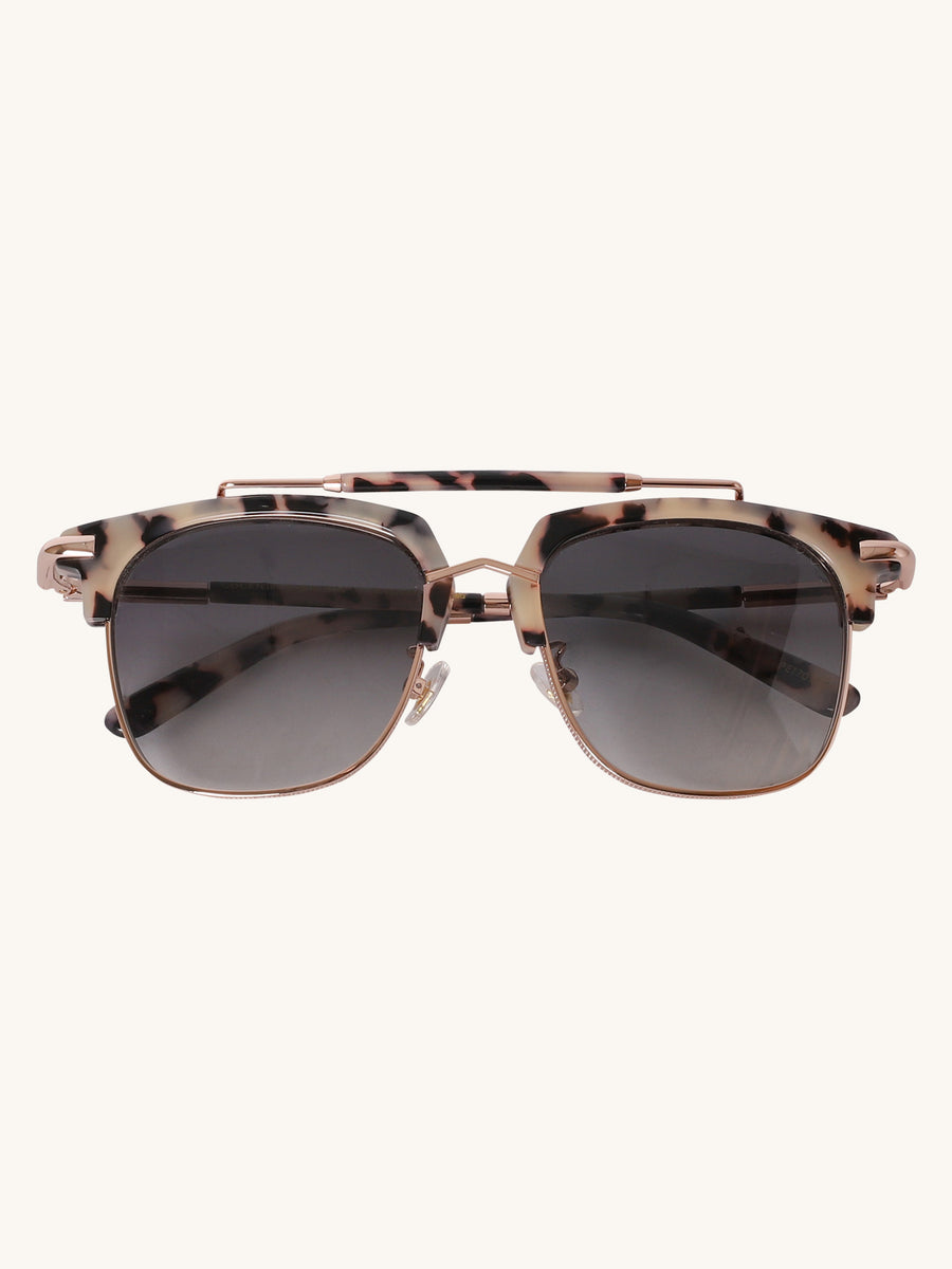 Turks & Caicos Sunglasses in Cookies & Cream Tortoise