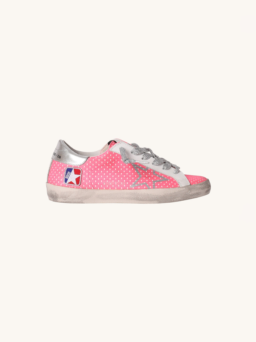 Superstar Sneakers in Pink Dots