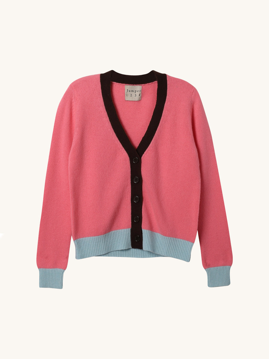 Floss Color Block Cardi