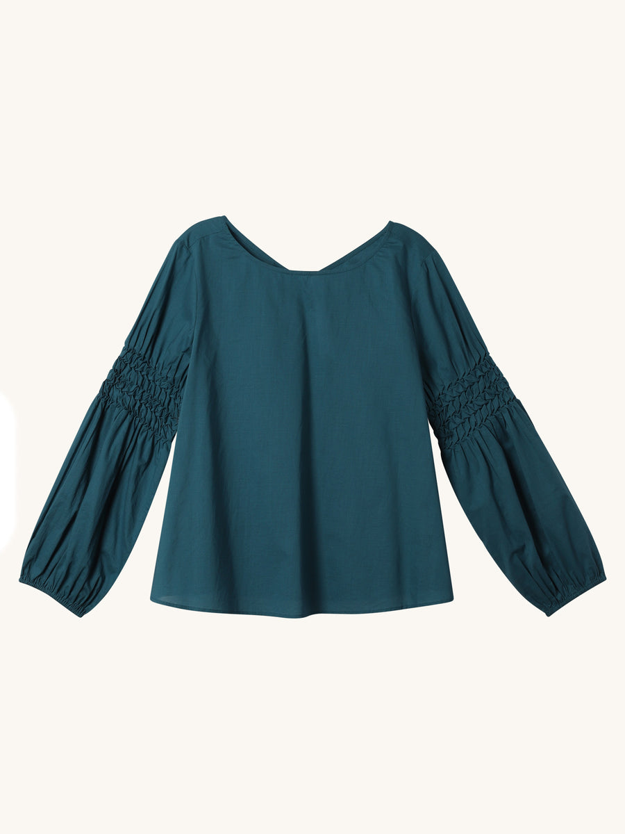 Miombo Top in Teal