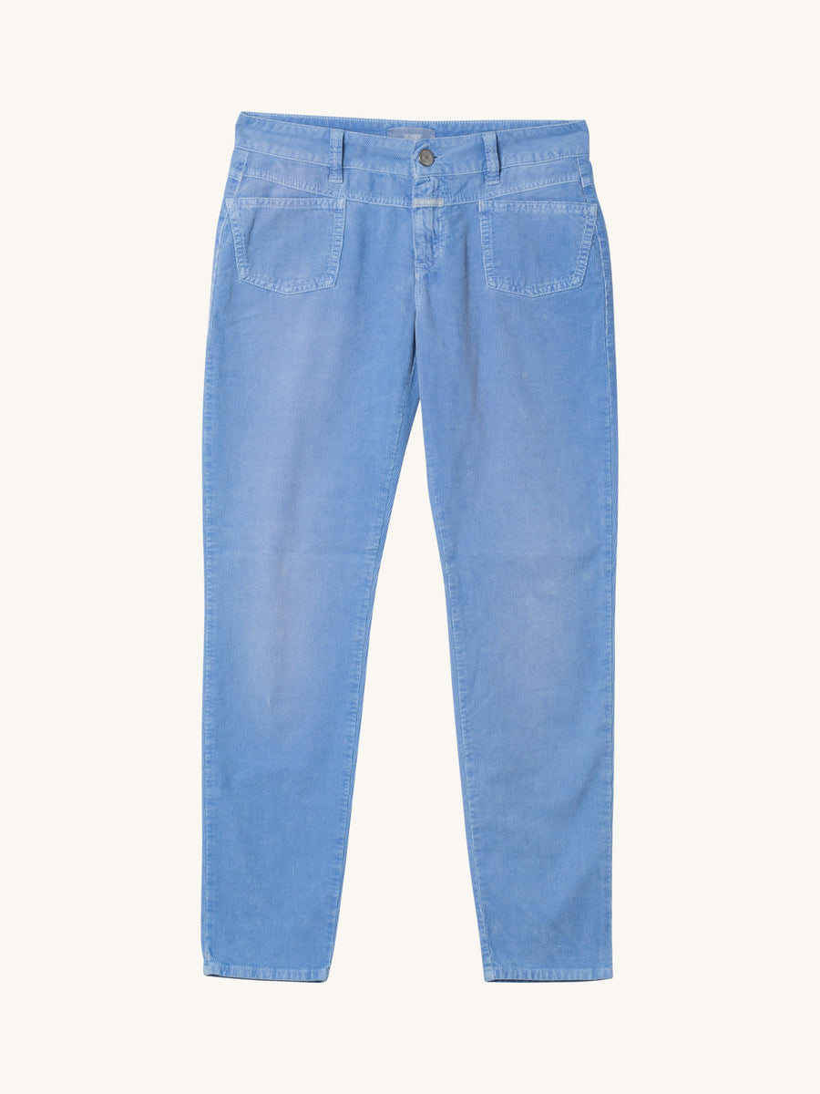 Pedal-X Cord Pants in Cornflower