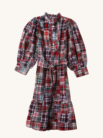 Madras Jerry Dress
