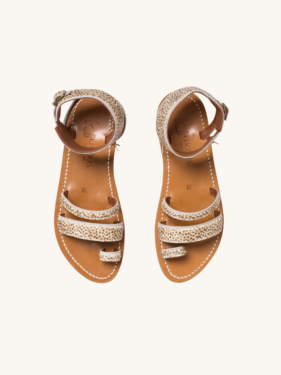 Ares Sandal in Merou Hair