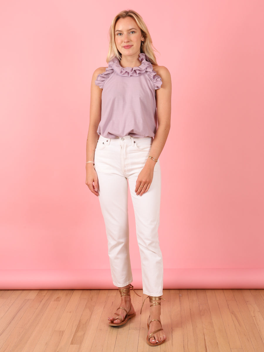 Lilac Sleeveless Kate Top