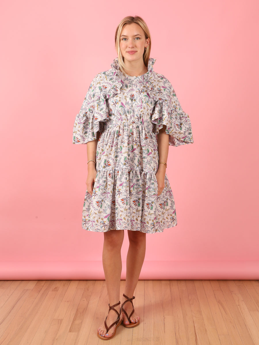Liberty Ruffle Dress