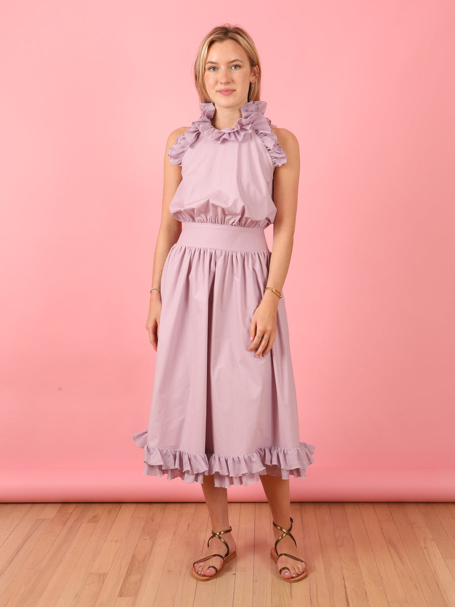 Lilac Sleeveless Kate Dress