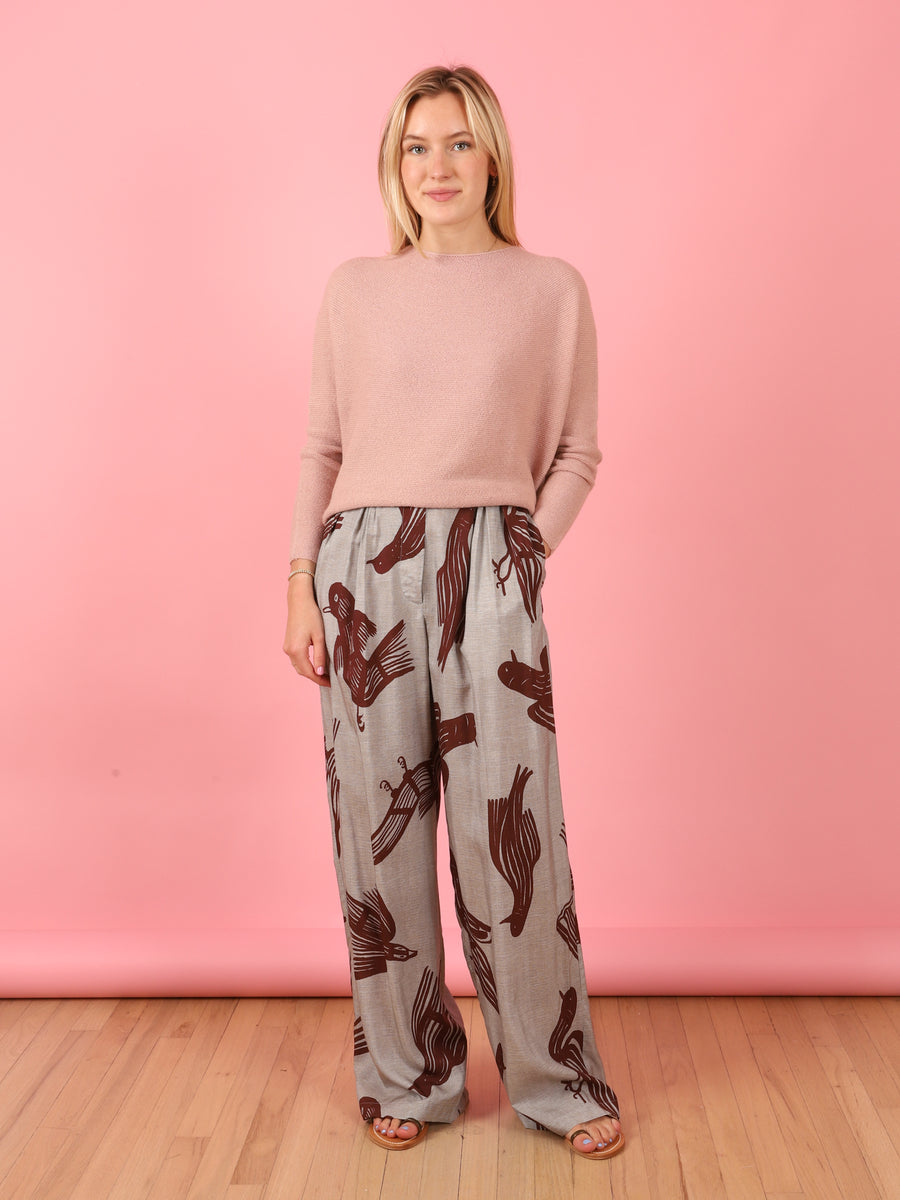 Pamod Pants in Bordeaux