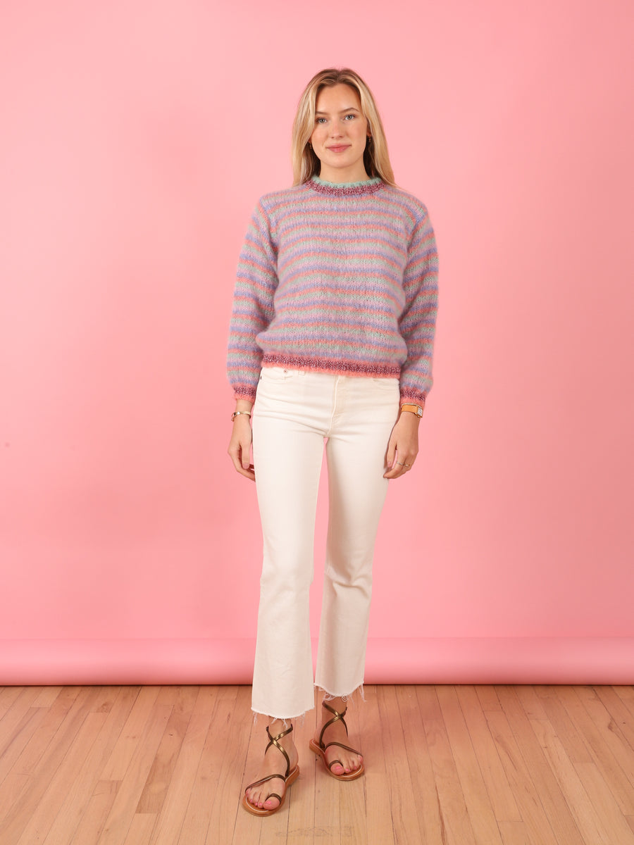 Stripe Knit in Blush