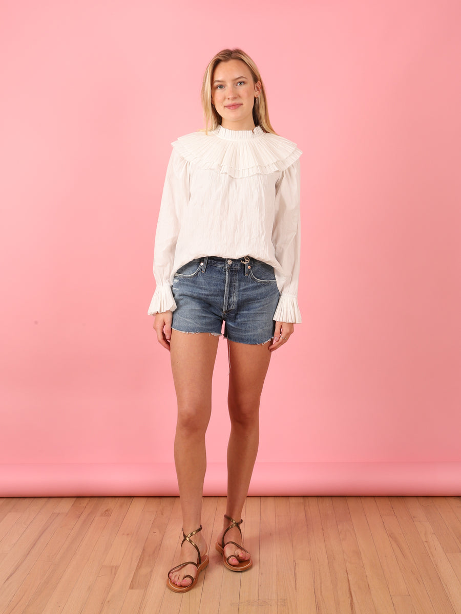 White Tivoli Top